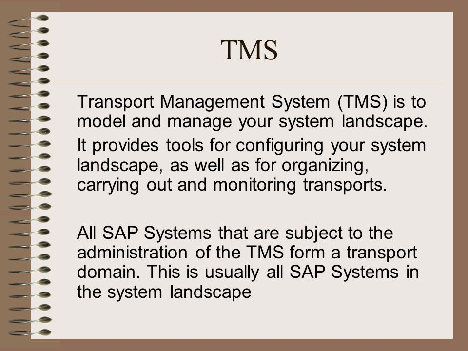 CTS Change & Transport System  Introduction The Change and