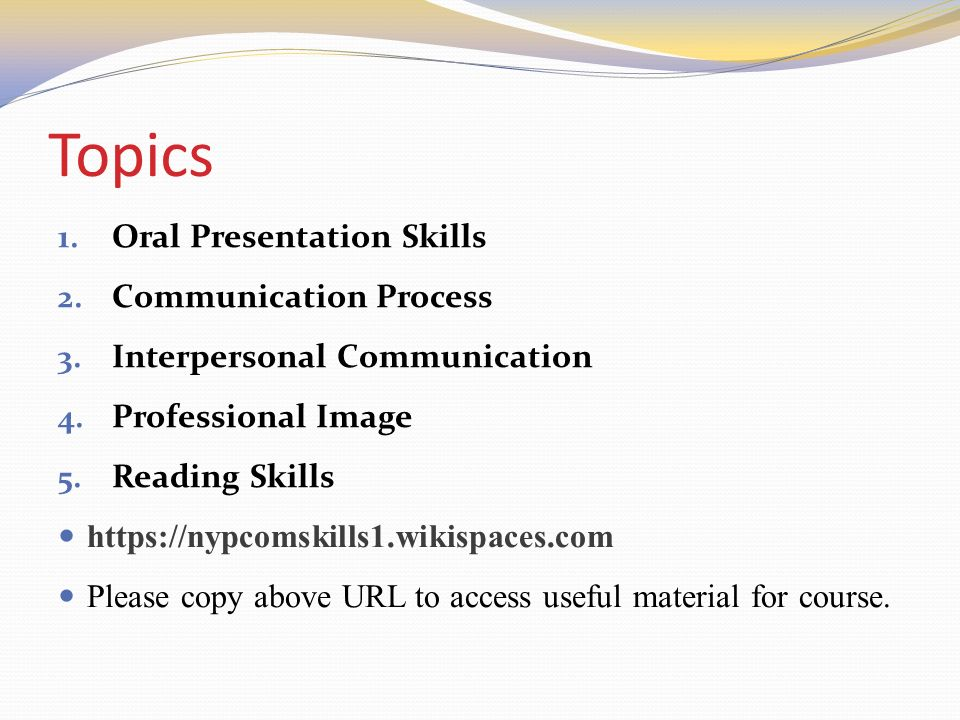 Good oral presentation topics amusing piece