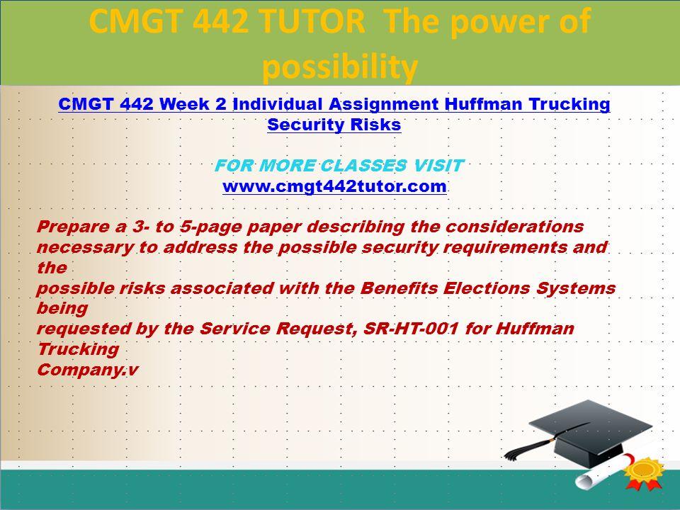 huffman trucking company