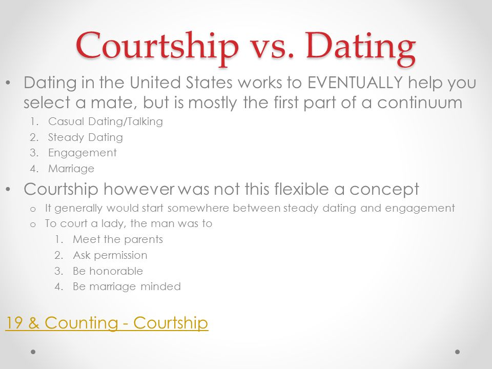 Casual dating vs serious dating