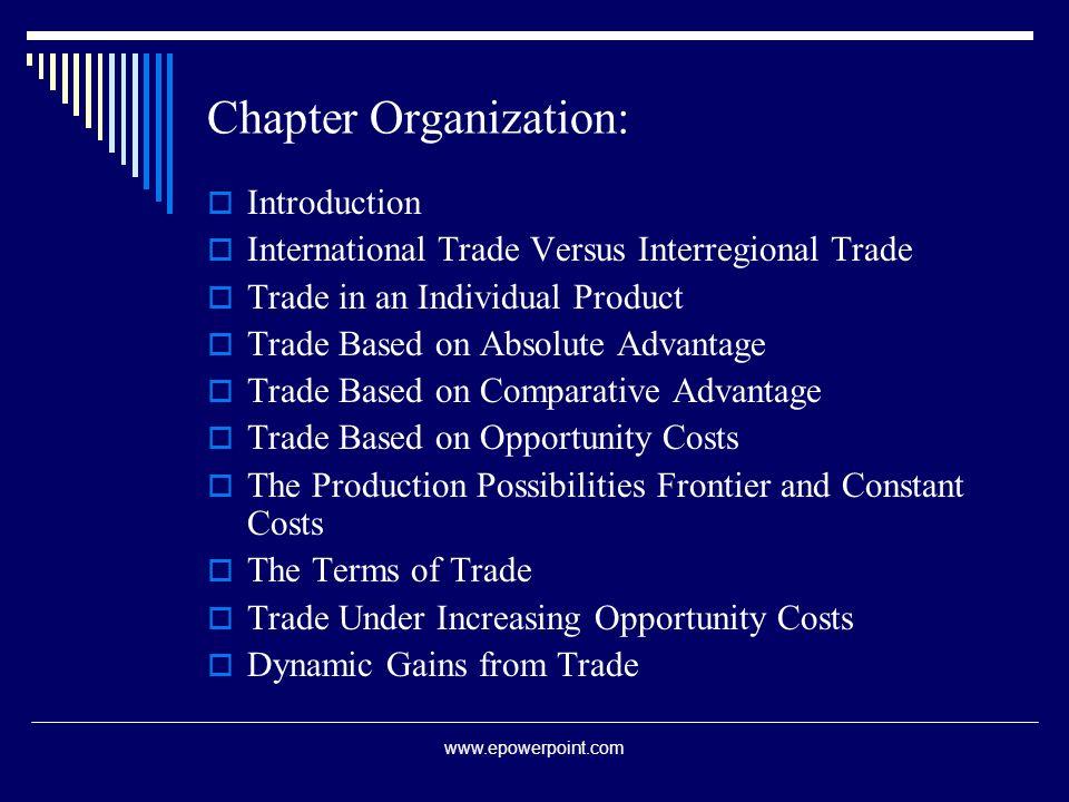 inter regional trade