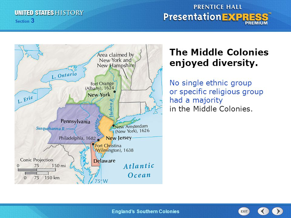 ethnic groups in the southern colonies