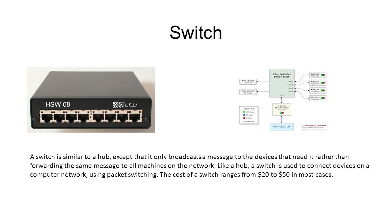 3 Switch ...