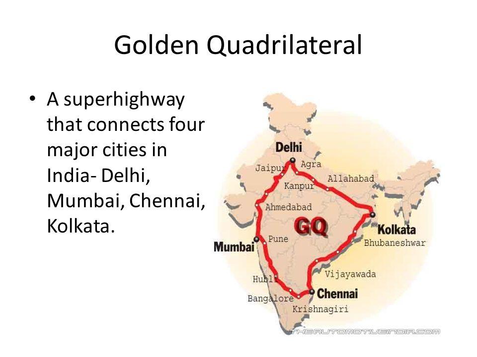 golden quadrilateral ppt