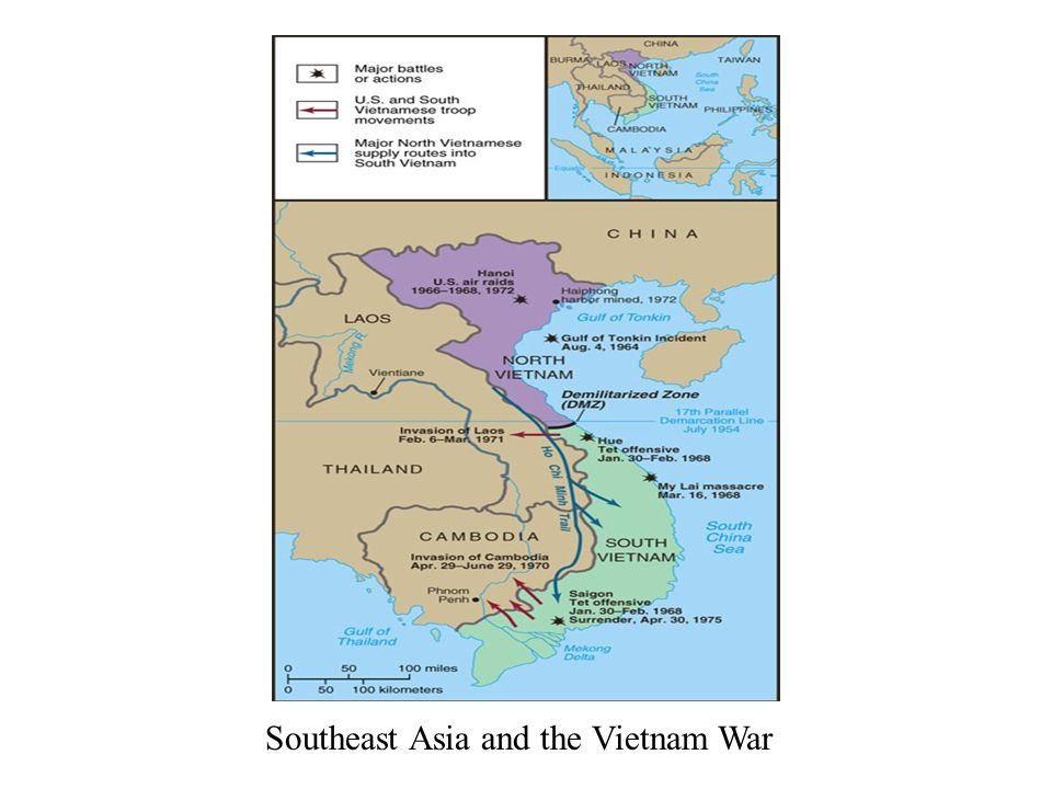 Vietnam and the Policies of the '60s & '70s Eisenhower and Vietnam on