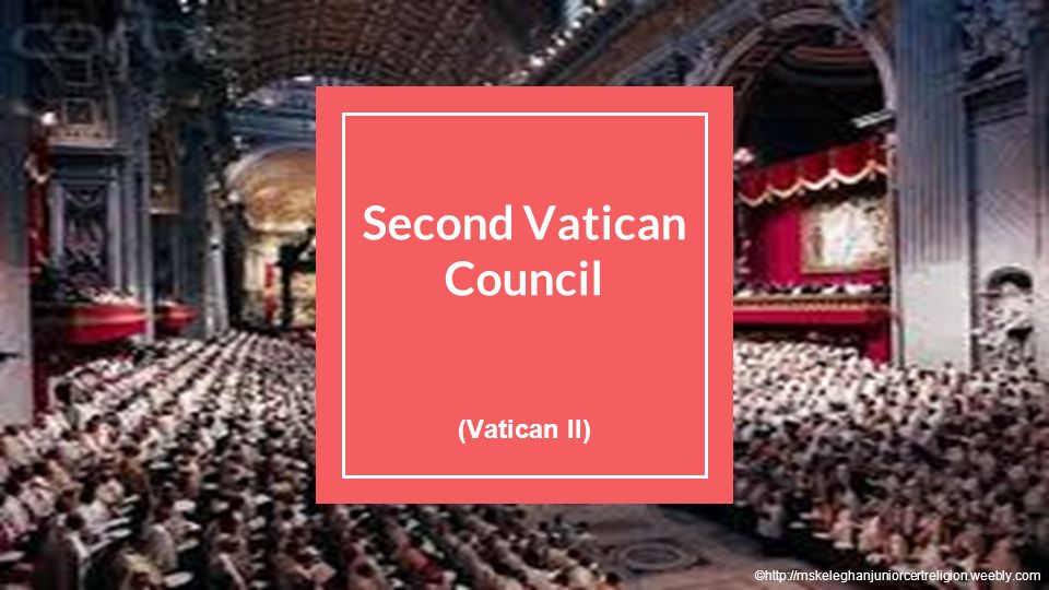 Image result for 2nd vatican council
