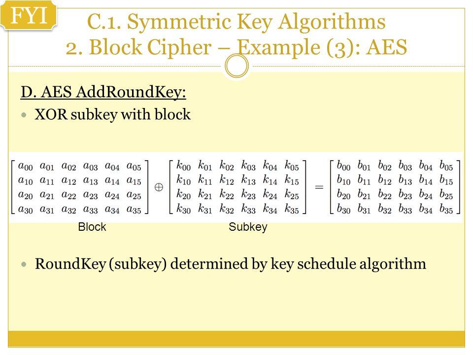 CPIS 312 Chapter Three: Symmetric KEY CRYPTO By Dr  Daniyal