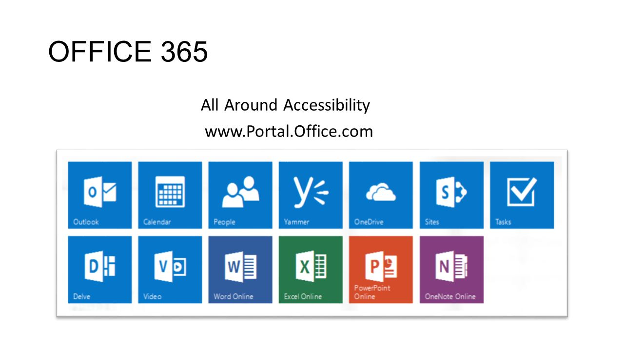 Office 365 oneopop office 365 all around accessibility ppt 2 office publicscrutiny Images