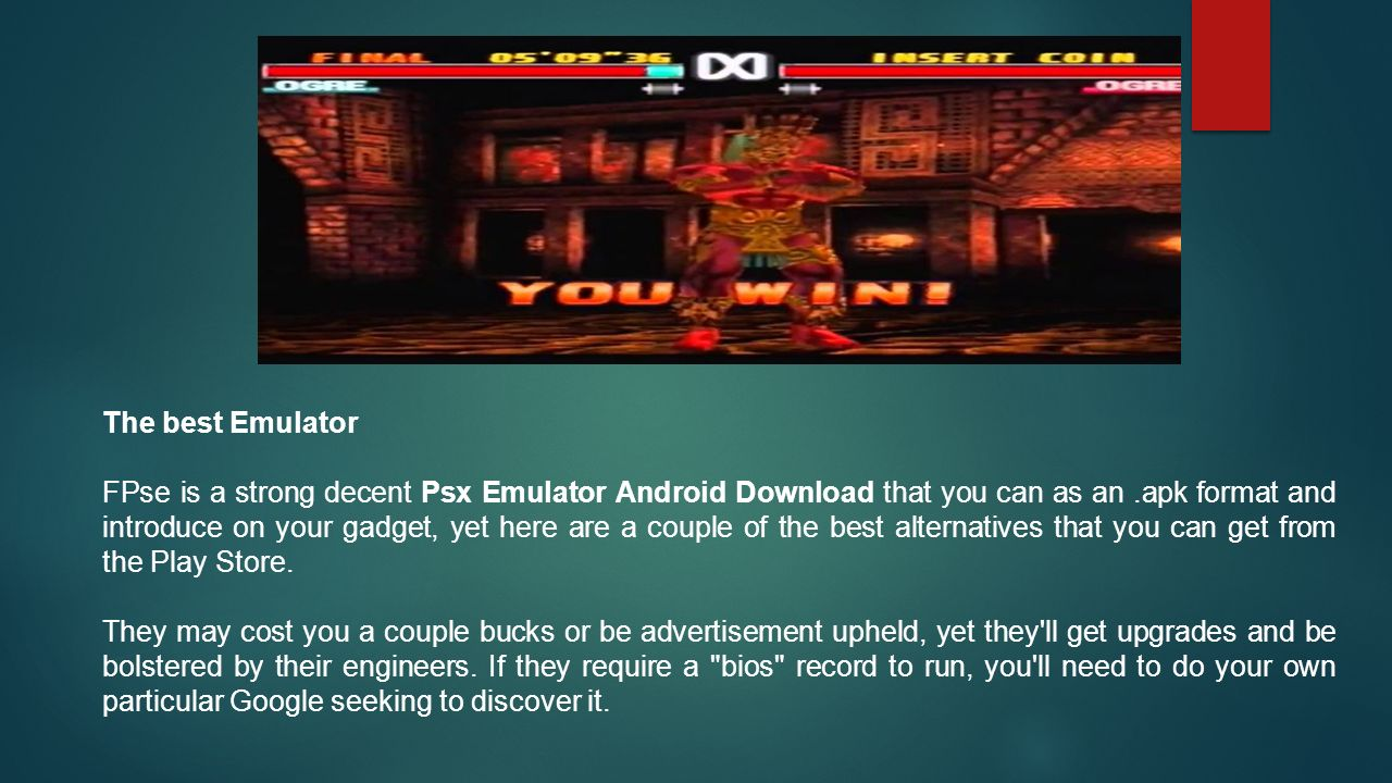 Download Today the PlayStation One Emulator App for Android Created