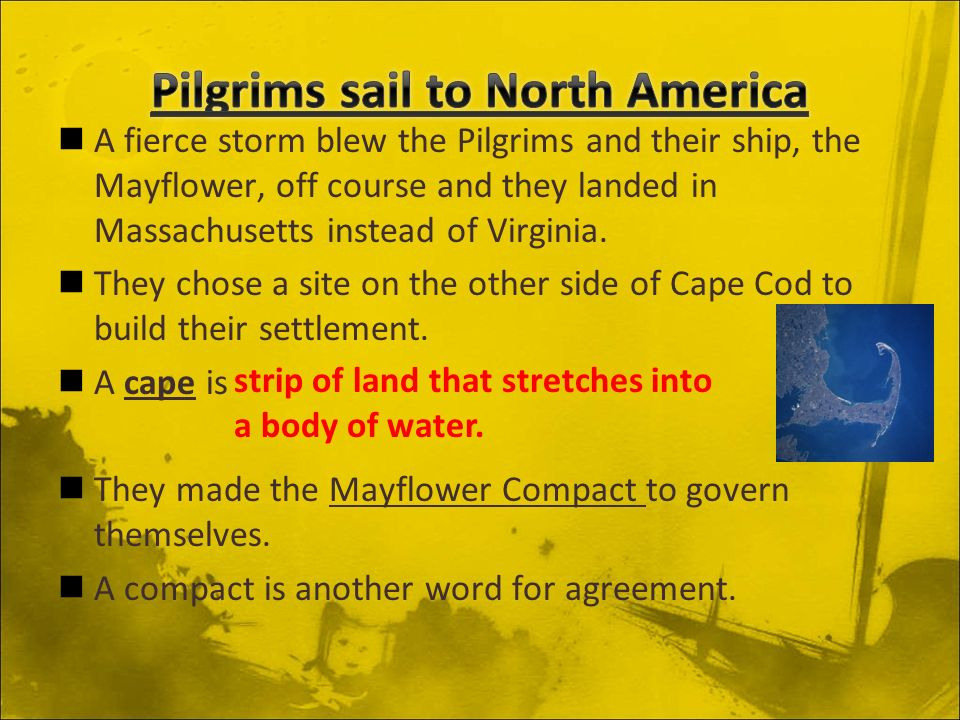Chapter 4 Lesson 3 New England Settlements Acos 4a Identify
