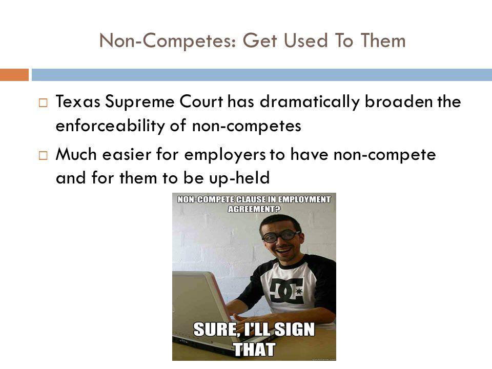 Texas Non Compete Law The Law Office Of Raven Applebaum Pllc