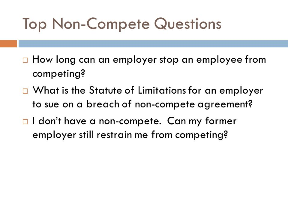 Texas Non Compete Law The Law Office Of Raven Applebaum Pllc