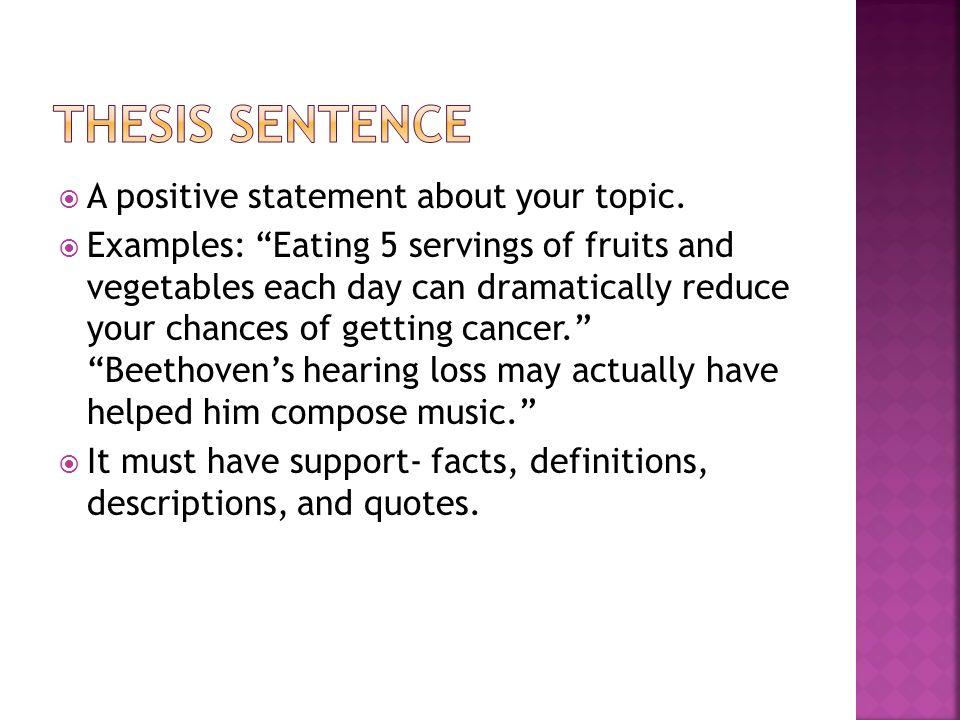 informative speech on cancer