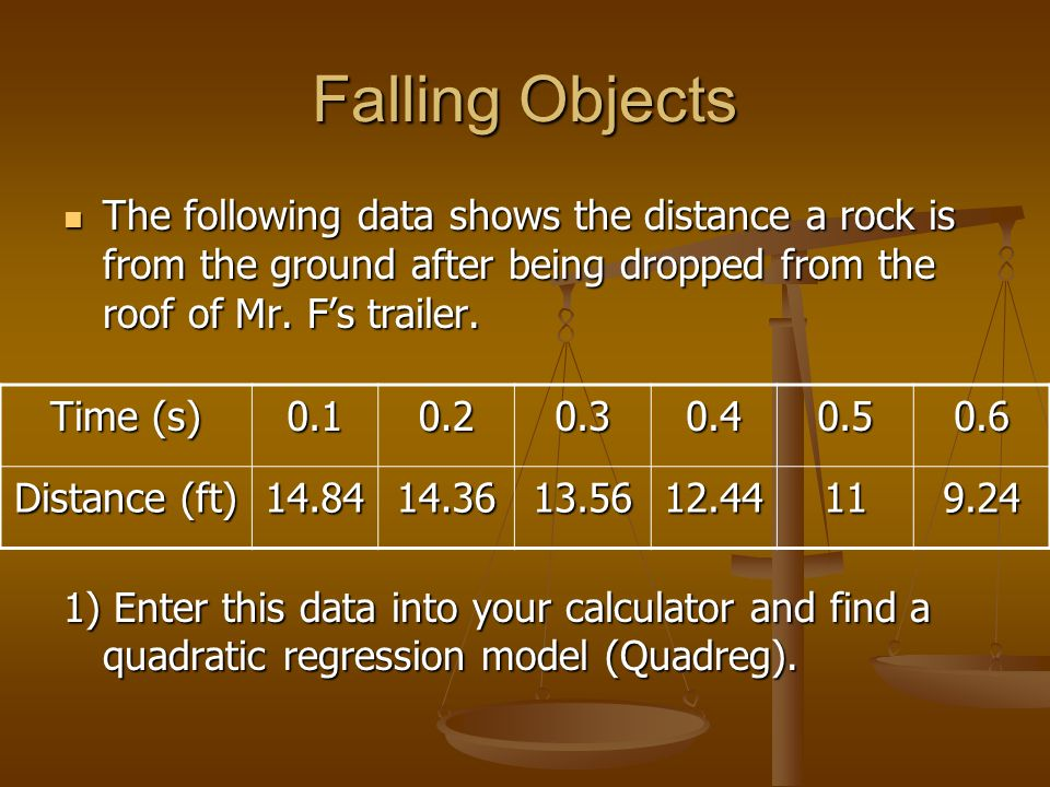 falling object calculator