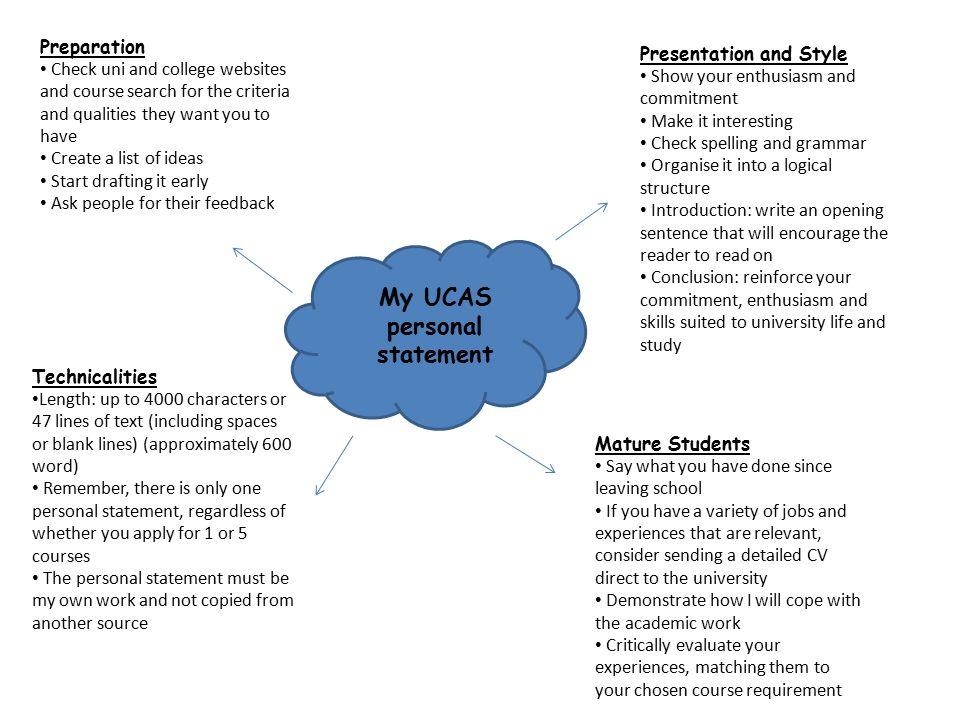 6 my ucas personal statement preparation check uni