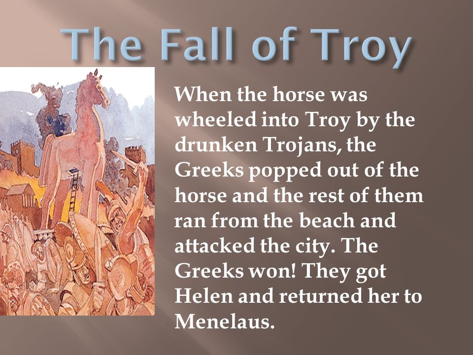 helen and troy summary