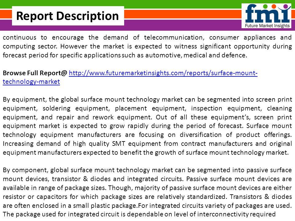 Global Surface Mount Technology Market Share, Global Trends
