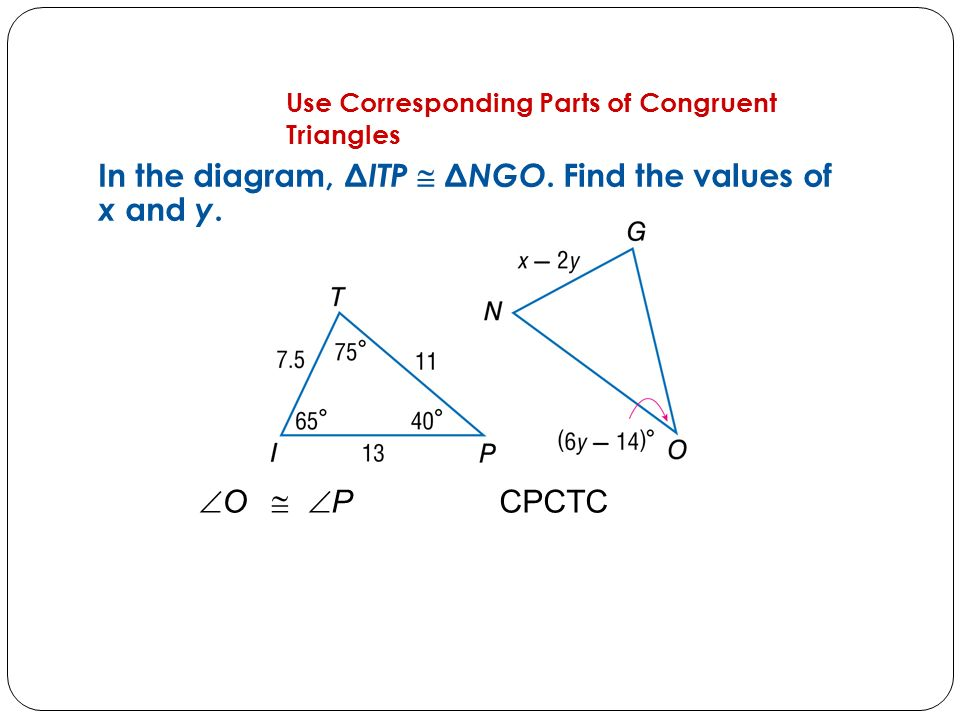 Congruent Triangles Chapter 4.3. Concept 1 Identify ...