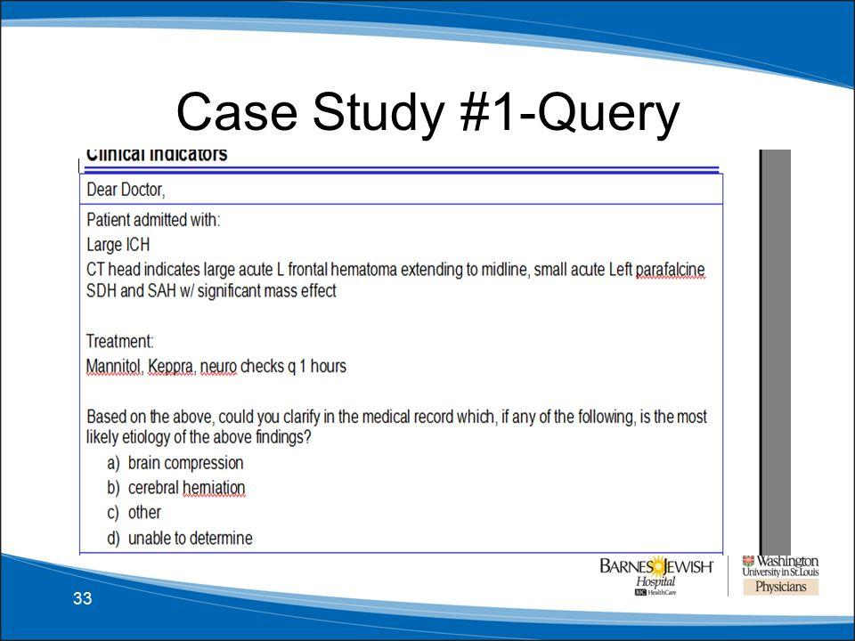 Clinical Documentation Improvement and Integrity Neurology
