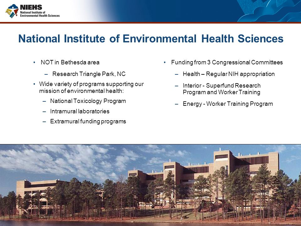 2 National Institute Of Environmental Health Sciences