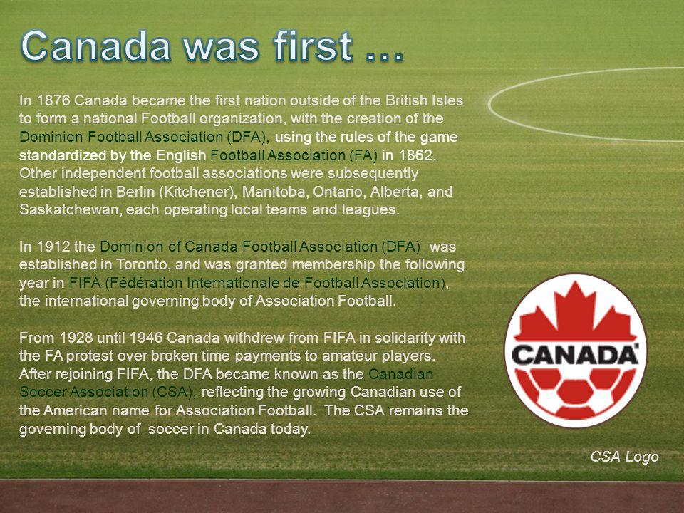 Canadian amateur football association opinion you