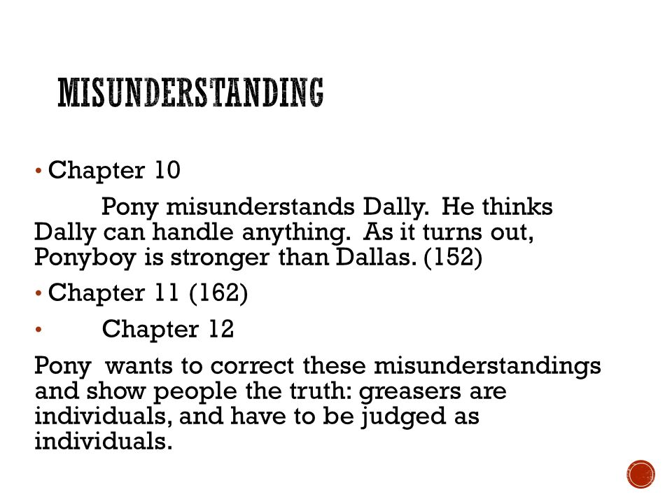 the outsiders chapter summaries