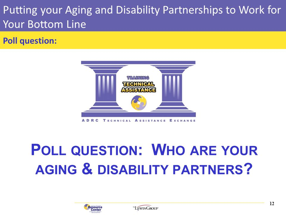 Can Disability Help Your Bottom Line >> 0 Training Course Putting Your Aging And Disability Partnerships