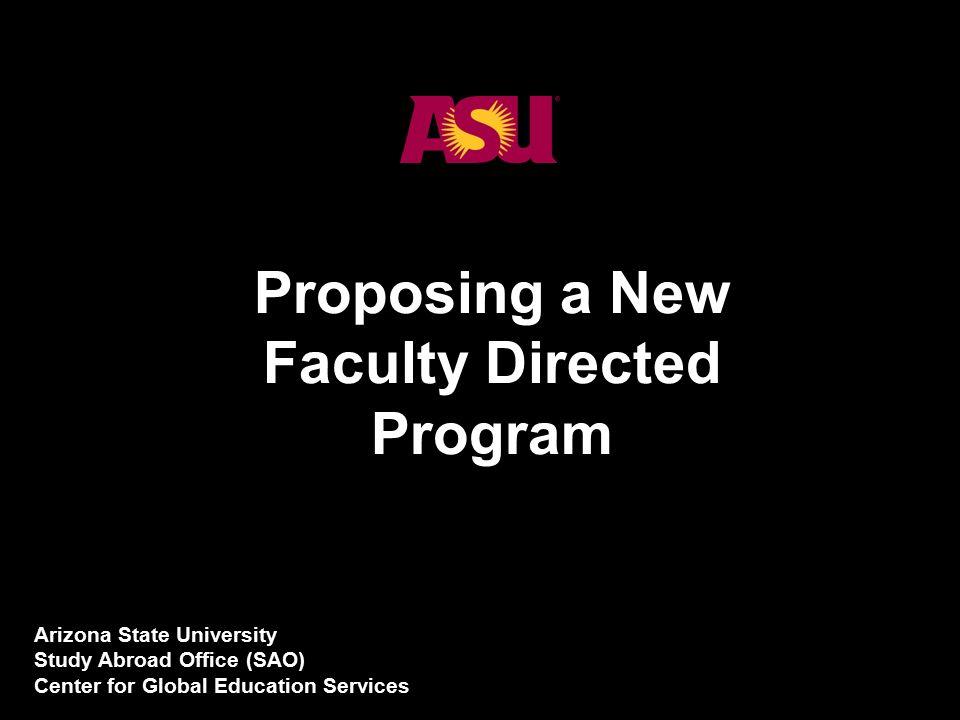 Fine 1 Proposing A New Faculty Directed Program Arizona State Download Free Architecture Designs Intelgarnamadebymaigaardcom