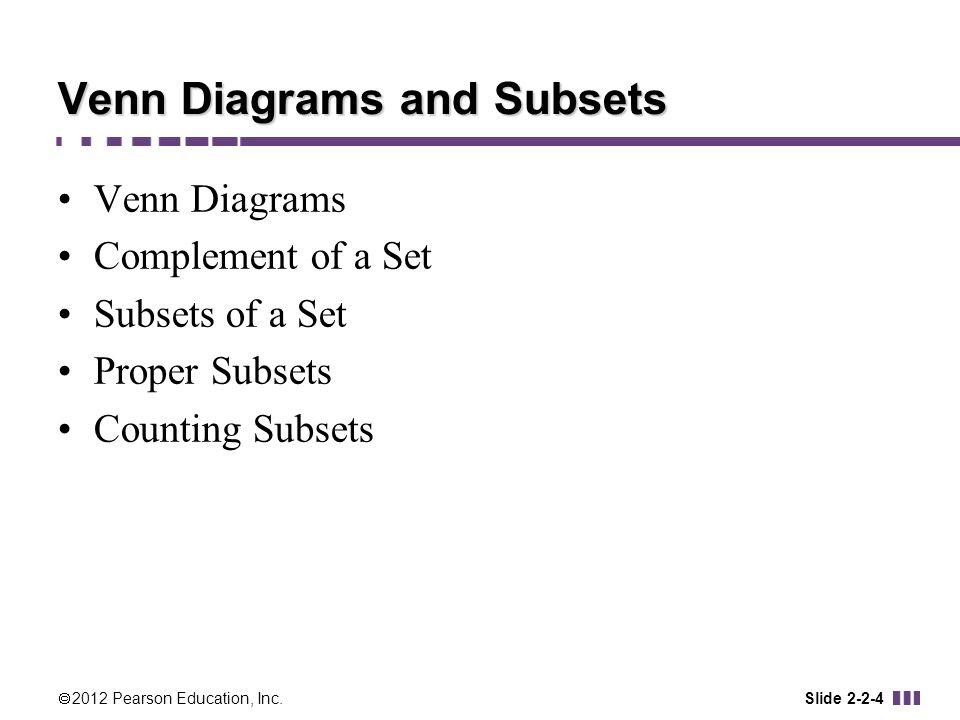 Proper Subsets Venn Diagrams Symbols Schematics Wiring Diagrams