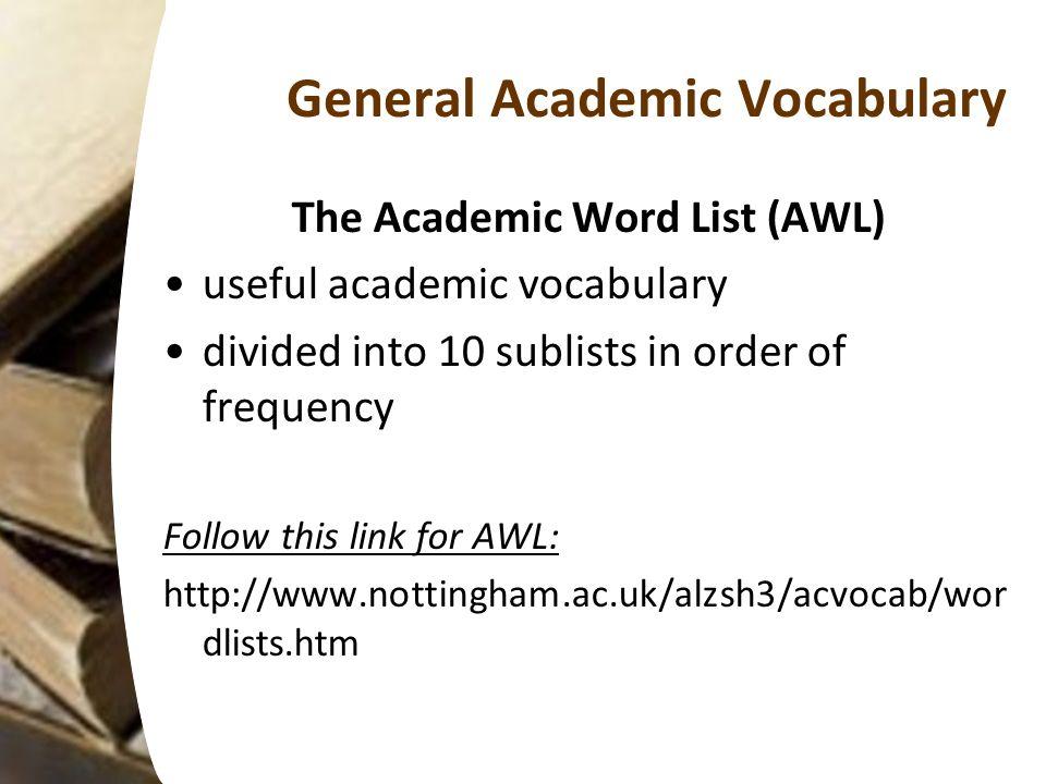 Teaching and Learning Academic Vocabulary Iryna Zuyenok