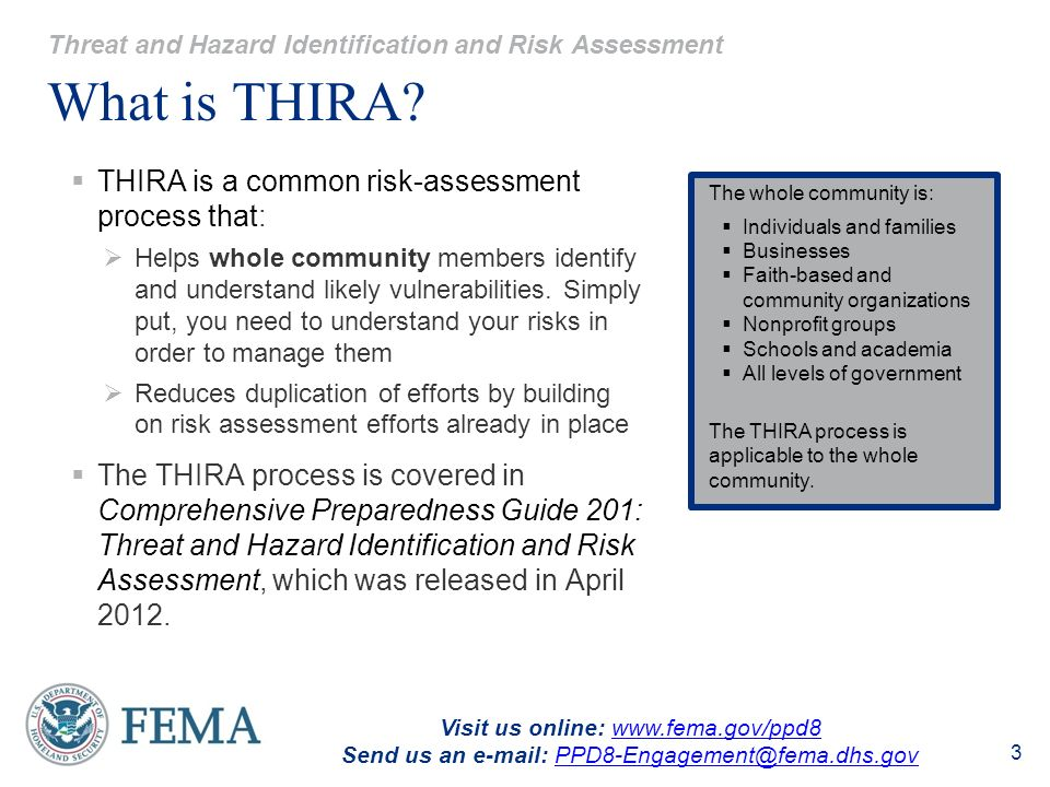Fema's new guide for complex coordinated terrorist attacks.