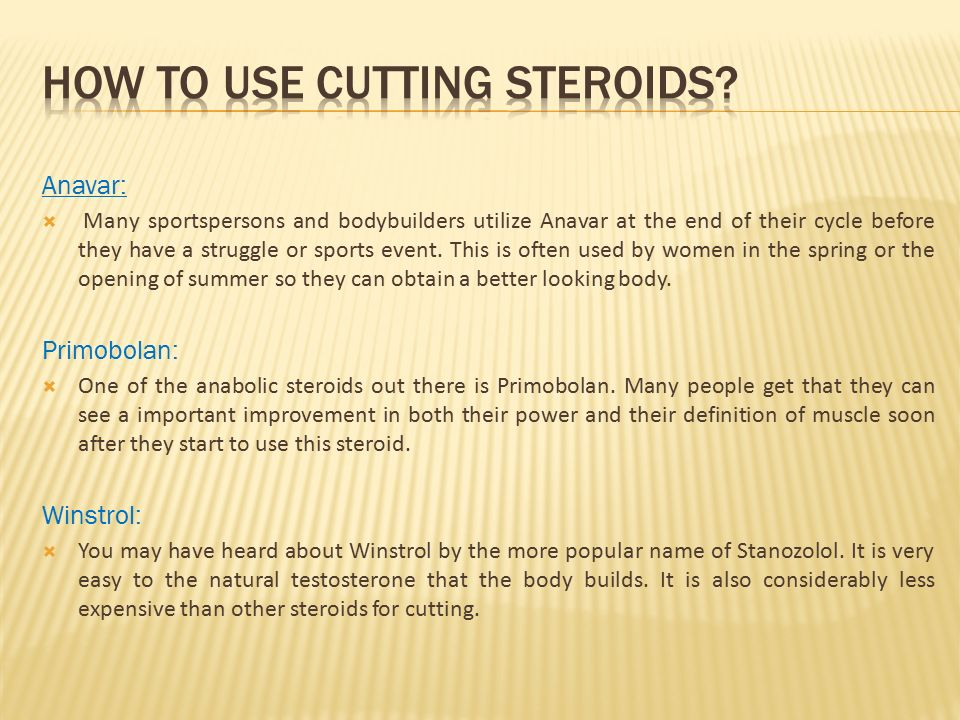 The Best of Anabolic Steroids  What are Cutting Steroids?  The