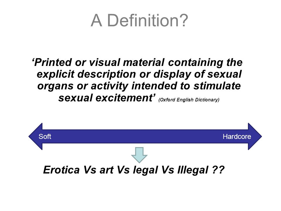 Sexualisation oxford dictionary
