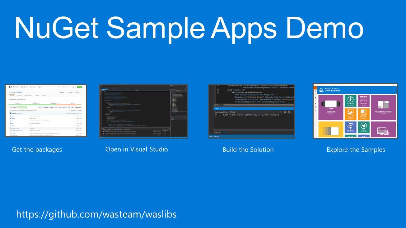 Windows App Studio Windows App Studio is the tool that makes