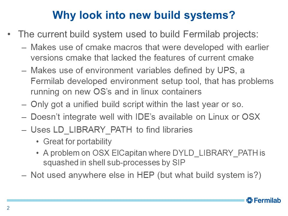 Patrick Gartung LArSoft Usability Meeting 22 June 2016 Build