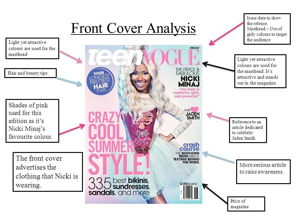 vogue magazine analysis