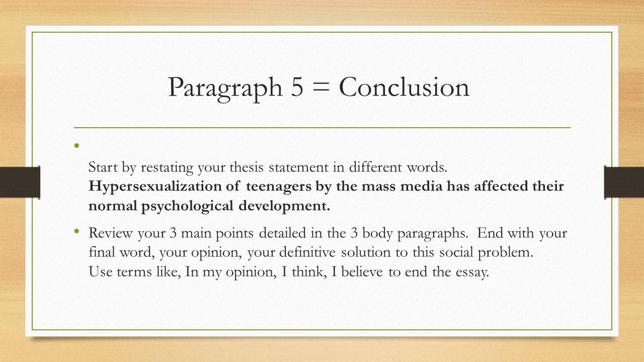 conclusion paragraph starters