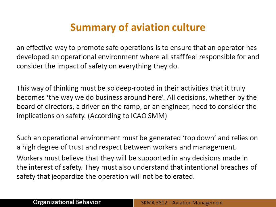 SKMA 3812 – Aviation Management SKMA 3812 – Aviation