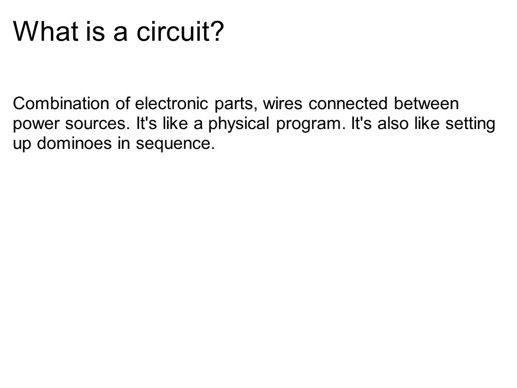 Class Parts List Breadboard 1 Wire Kit Red Leds 3 Green Reed Switch Wiring Diagram What Is A Circuit Combination Of Electronic Wires Connected Between Power Sources