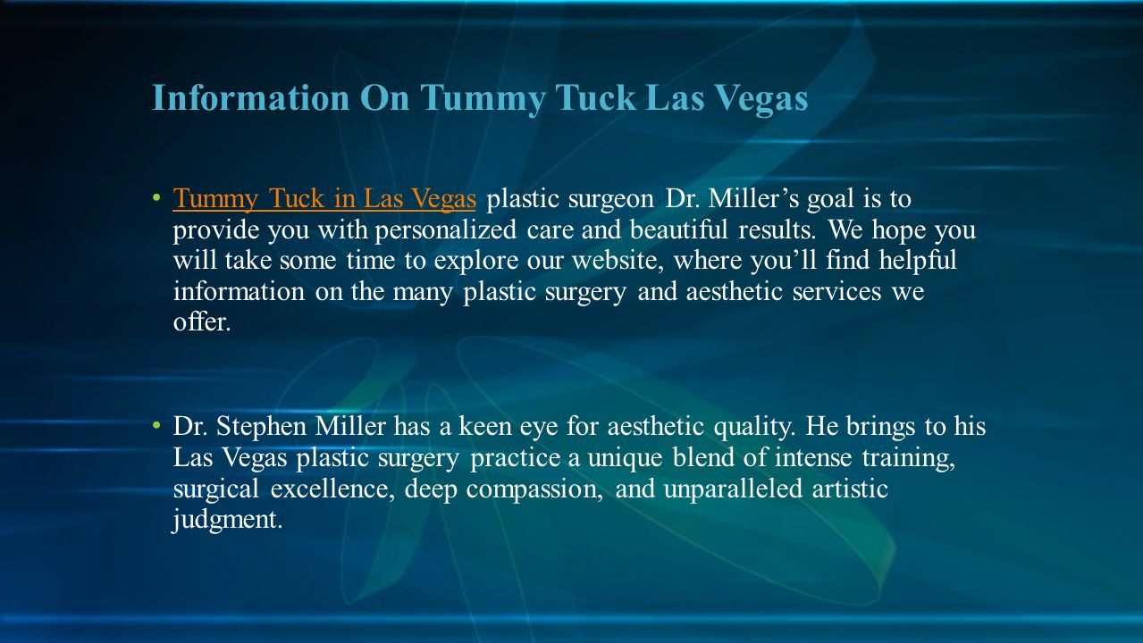 Improve Your Appearance And Elevate Your Self Confidence Tummy Tuck Las Vegas Photo Gallery Abdominoplasty Ppt Download