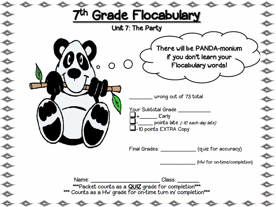 flocabulary answer key unit 7