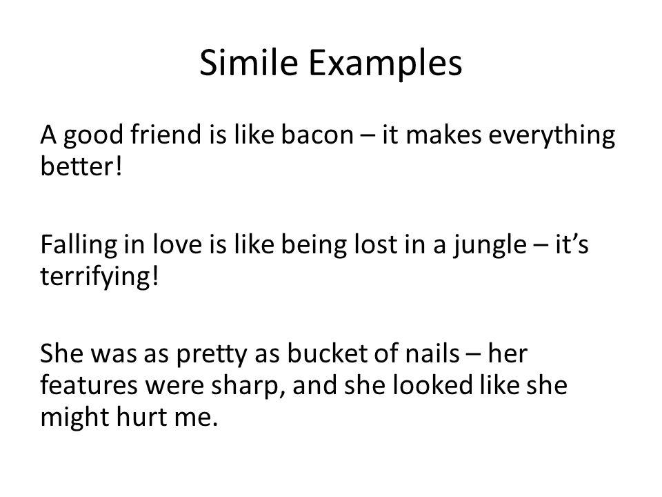 love is like similes