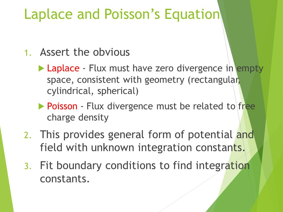 EXAMPLES OF SOLUTION OF LAPLACE's EQUATION NAME: Akshay