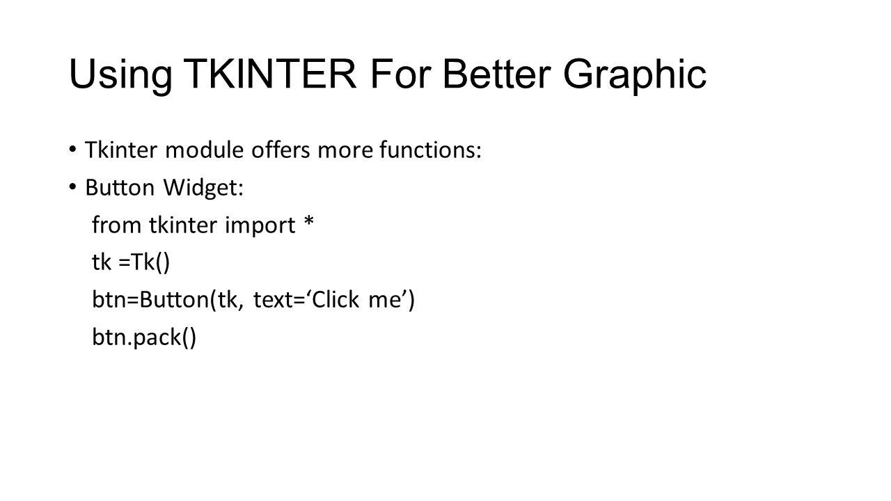 Tkinter module download