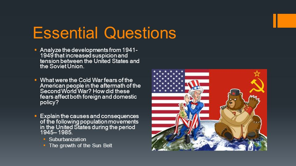 cold war dbq contextualization