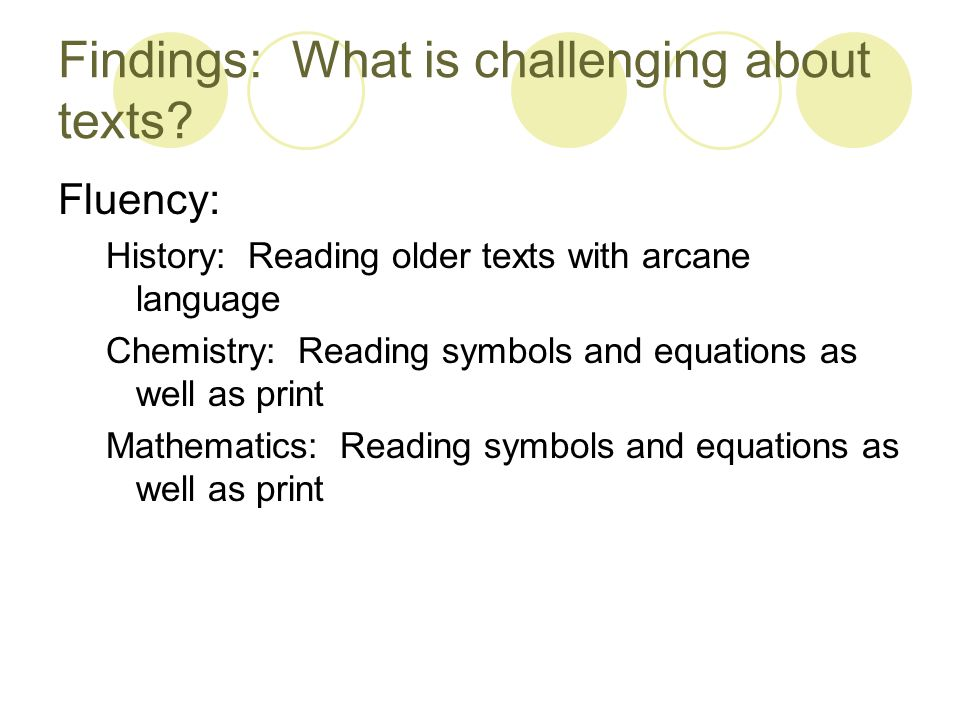 Disciplinary Literacy What Students Need To Know To Read