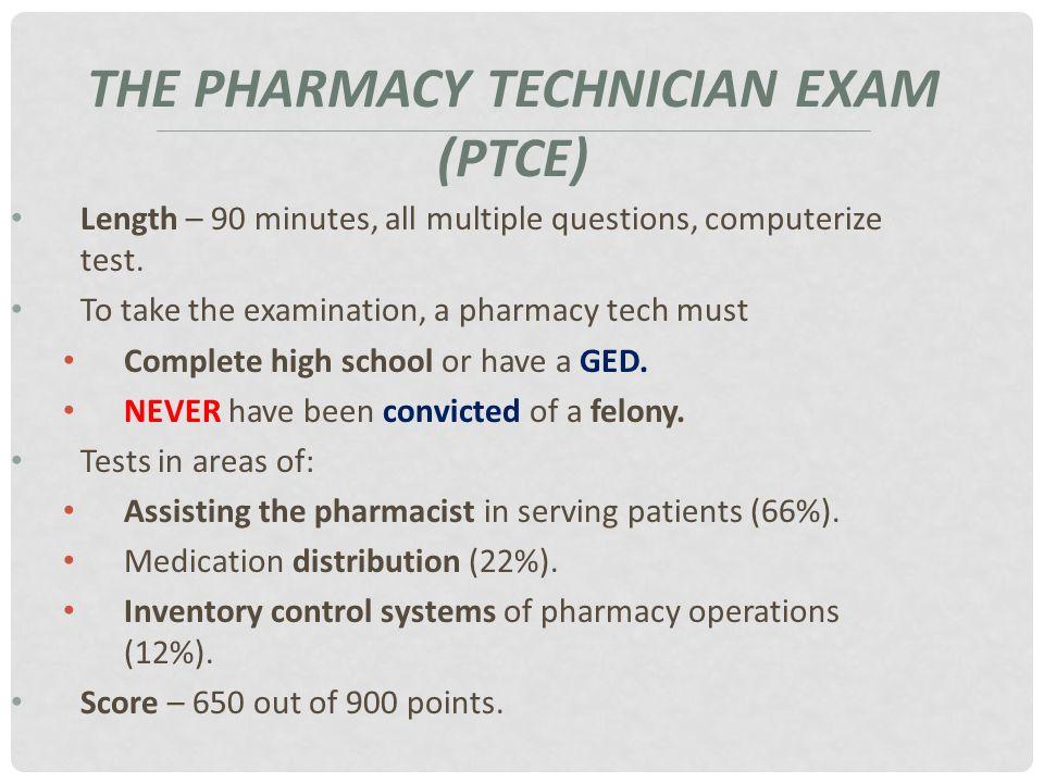 The Pharmacy Technician Chapter 2 The Pharmacy Technician Ppt