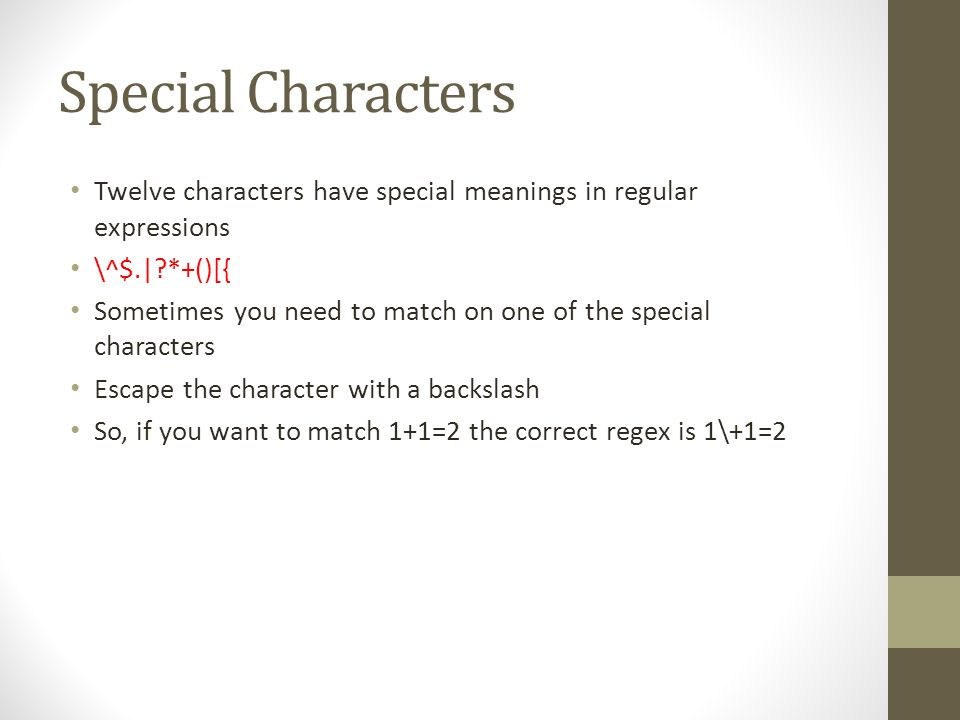 Regular Expressions In Javascript cosc What Do They Do? Does