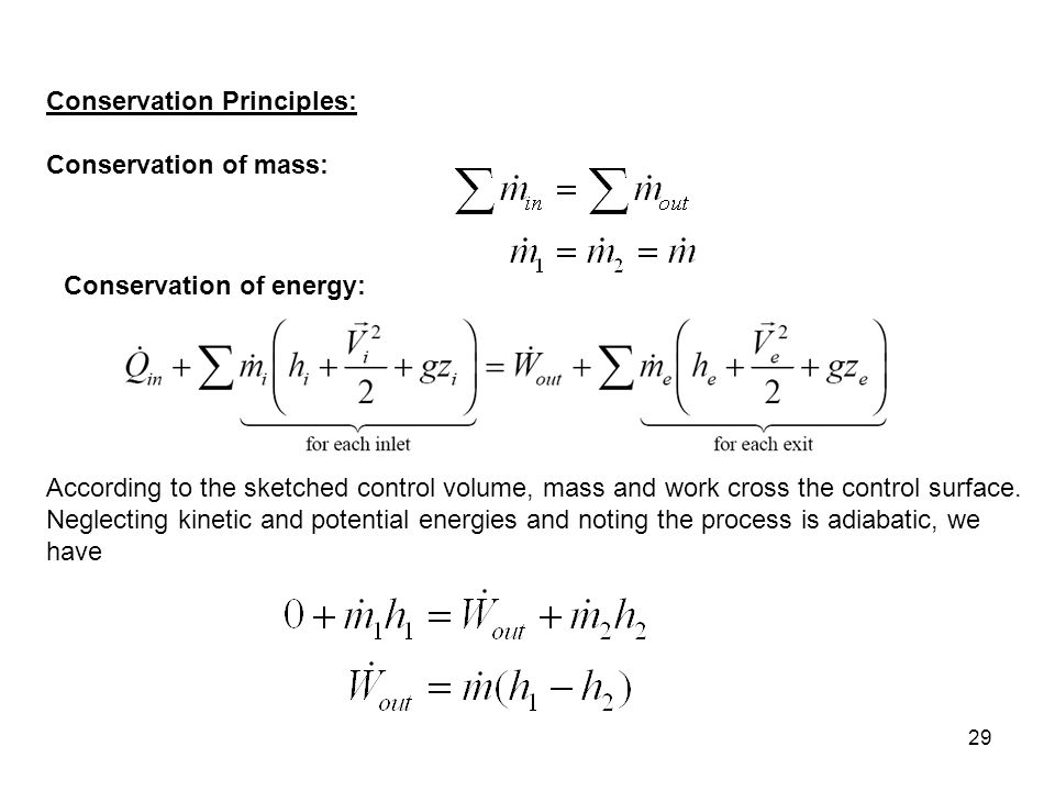Chapter 5 part 2 mass and energy analysis of control volumes study 4 29 conservation fandeluxe Images
