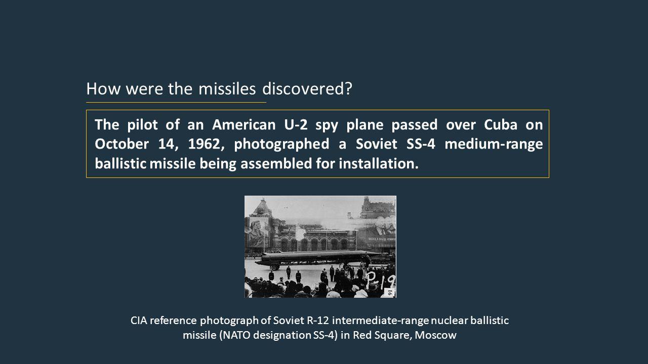 Cuban Missile Crisis Rachel  How were the missiles